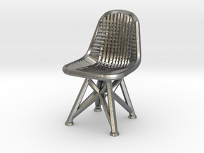 Wire Chair DKR-07-Big in Natural Silver