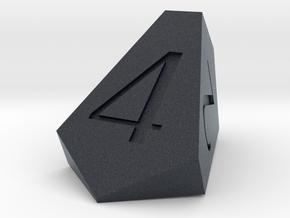 d4 truncated isosceles tetrahedron engebrechtre in Black PA12