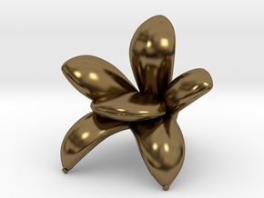 "Getsuen 1/2"" Scaled in Polished Bronze: 1:24"