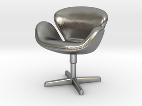 Arne Jabobson - Swan Chair in Natural Silver
