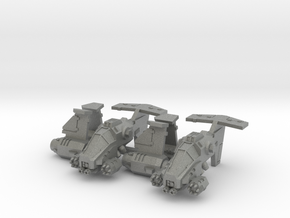 "6mm ""Talonstorm"" VTOL Gunship (2pcs) in Gray PA12"