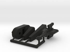 6k K-29 Death Spinner in Black Natural Versatile Plastic