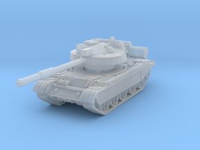 T-62 M Tank 1/144 in Smooth Fine Detail Plastic