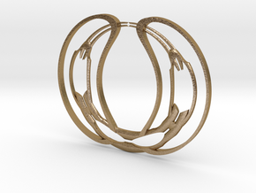loops_0001 in Polished Gold Steel