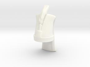 Turkish Janissaries (Draft) in White Processed Versatile Plastic
