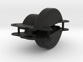 KR_v2_diff_cap_large in Black Natural Versatile Plastic