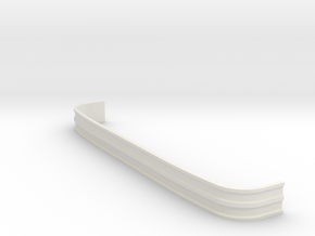 MACK-CF-Bumper-1to25 in White Natural Versatile Plastic