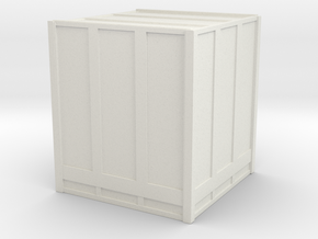 Large Shipping Crate 1/76 in White Natural Versatile Plastic