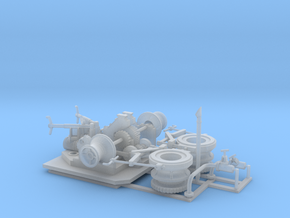 48thScaleAnchorWinch in Smooth Fine Detail Plastic