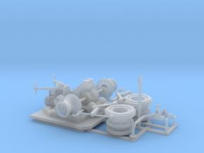 48thScaleAnchorWinch in Smooth Fine Detail Plastic