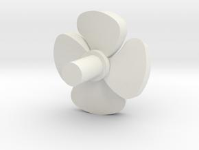 Airco fan Wadloper (scale 1:45) in White Natural Versatile Plastic