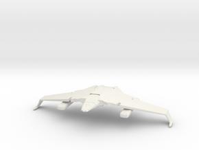 2500 Romulan V-7 Whitewind class in White Natural Versatile Plastic
