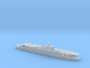 1/1800 Scale French Joffre Light Carrier in Smooth Fine Detail Plastic