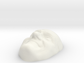 One-back in White Natural Versatile Plastic