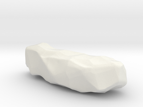 Large rock in White Natural Versatile Plastic