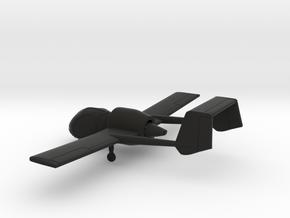 Edgley EA-7 Optica in Black Natural Versatile Plastic: 1:160 - N