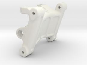 HPI Blitz Wheelie Bar Mount in White Natural Versatile Plastic