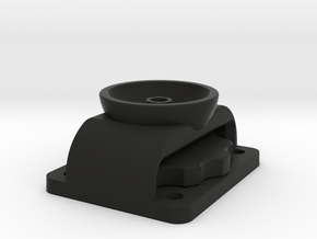 ProClip to QuadLock Wireless Charging Head adapter in Black Natural Versatile Plastic
