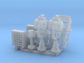 Special Open bridge equipment 1/144 in Smoothest Fine Detail Plastic