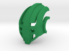 Great Mask of Inertia (for Bionicle) in Green Processed Versatile Plastic
