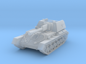 SU-76 M (late) 1/220 in Smooth Fine Detail Plastic