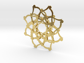 pendant_0017 in Polished Brass