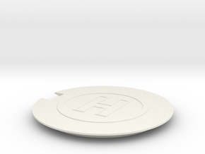Helipad 1/200 in White Natural Versatile Plastic