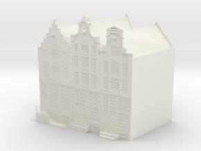 CANAL HOUSES Korte Prinsengracht in White Natural Versatile Plastic