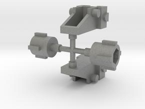 Zoids Attachment Parts in Gray PA12