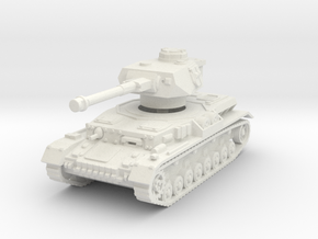 Panzer IV G 1/87 in White Natural Versatile Plastic