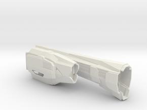 1/3788 Triumph Class Left Nacelle in White Natural Versatile Plastic