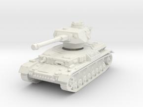 Panzer IV G 1/120 in White Natural Versatile Plastic