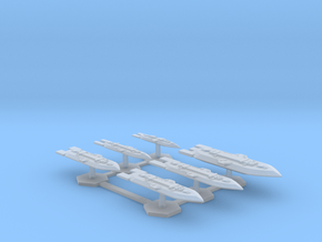 7000 Scale Frax Fleet Core Collection MGL in Smooth Fine Detail Plastic