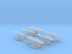 7000 Scale Frax Fleet Builder Collection MGL in Smooth Fine Detail Plastic