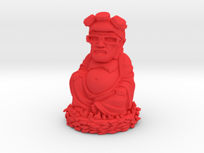 HeisenBuddha aka Heisenberg Buddha plastic in Red Strong & Flexible Polished