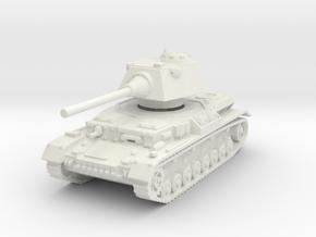 Panzer IV S 1/120 in White Natural Versatile Plastic