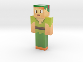 PieguyGames | Minecraft toy in Glossy Full Color Sandstone