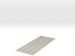 4xJoch neu Spur Nf   1:160  3,75mm Spurweite   4x1 in White Acrylic