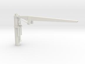 Ship Crane - Not Scaled  in White Natural Versatile Plastic