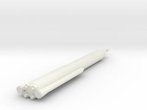 1/400 Scale SLS Block II Crew in White Natural Versatile Plastic