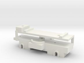 Motorpost loper vd schoor in White Natural Versatile Plastic