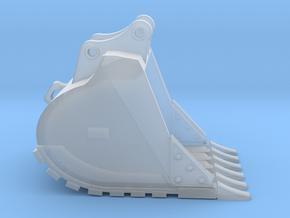"1:50 48"" GP Bucket for 20 Ton excavators V3 in Smooth Fine Detail Plastic"