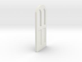 Thomas the Tank Engine Door 1 in White Natural Versatile Plastic: 1:32
