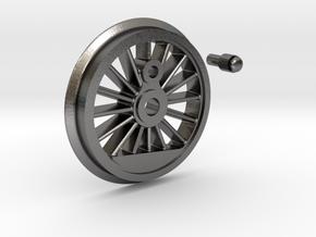 Marklin BR55 Drive Wheel - Uninsulated - PN 5713 in Polished Nickel Steel: 1:32