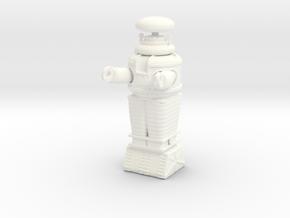 Lost in Space Robot - Moebius - 1/35 scale in White Processed Versatile Plastic