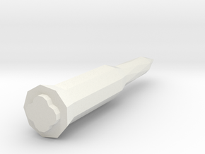 1/400 Scale Russian SS-14 Scamp Missile in White Natural Versatile Plastic