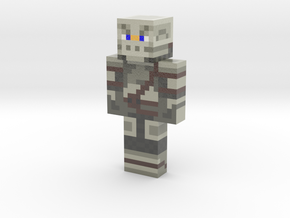 Medieval_Knight | Minecraft toy in Glossy Full Color Sandstone