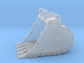 "1:64 72"" Bucket+Spade teeth for 385B/385C in Smooth Fine Detail Plastic"