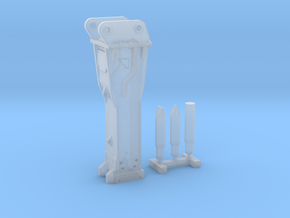 1:64 Hammer for 385B/385C in Smooth Fine Detail Plastic