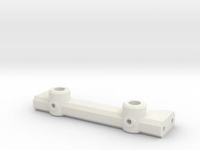 STH: Rear Body Mount 78mm in White Natural Versatile Plastic